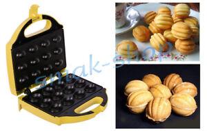 NUTS ELECTRIC MOLD MAKER USSR 12 SWEET ORESHKI RUSSIAN + RECIPE IN ENGLISH