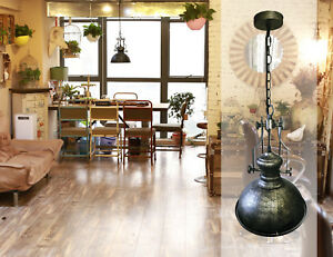 Pendelleuchte Industrie Metall Antikmessing Wohnzimmer Led Design
