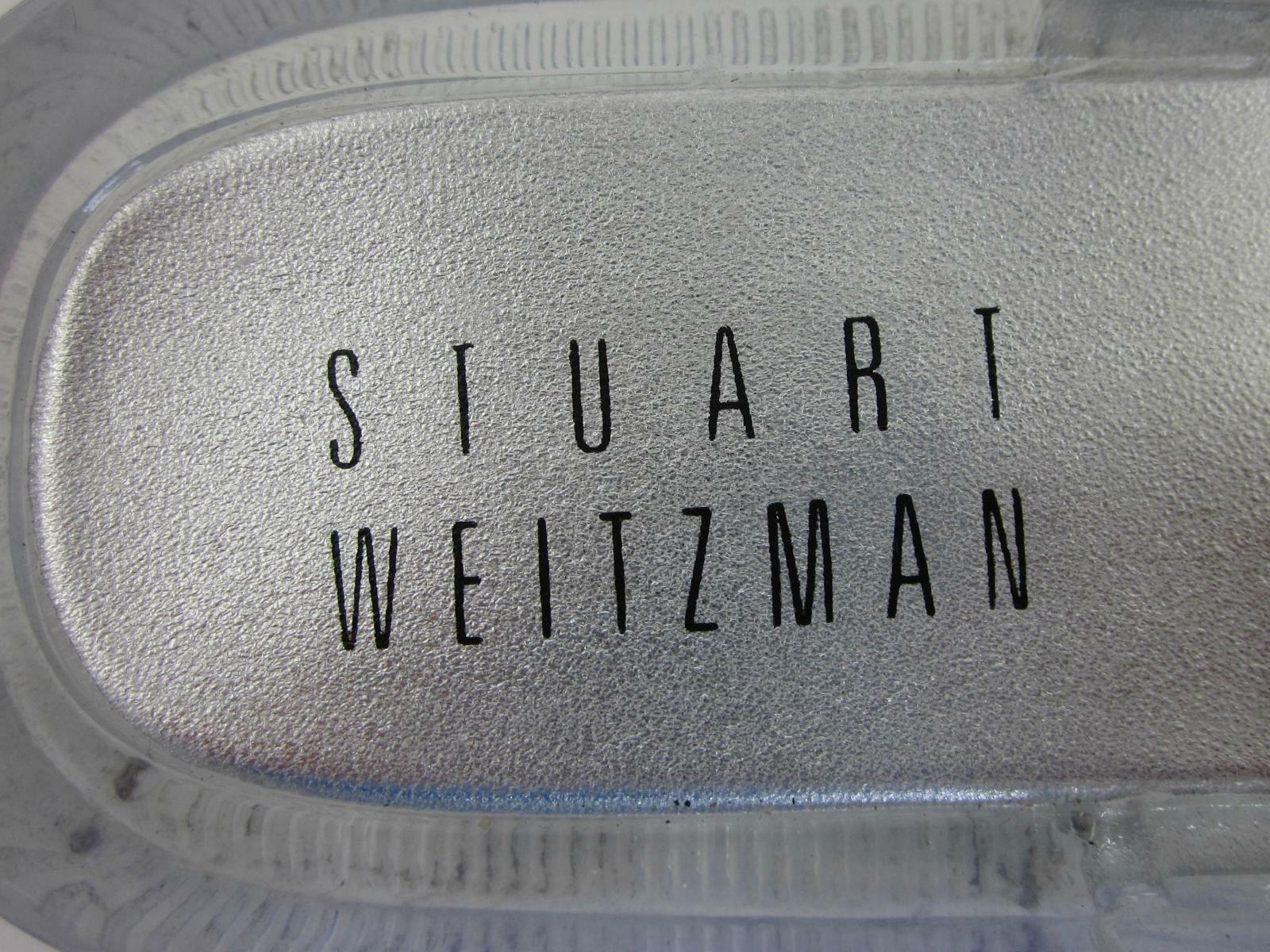 Stuart Weitzman Big Jeweled Thong Jelly Sandales US 5 Runs Big Weitzman Fits US 6-6.5 2cf18f