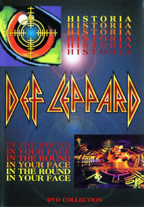 Def-Leppard-Historia-In-the-Round-in-Your-Face-DVD-NEW