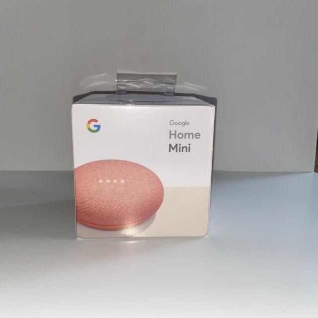 Google Home Mini Smart Assistant - Coral