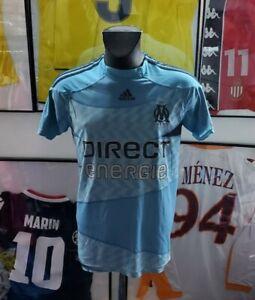 Maillot jersey maglia shirt camiseta trikot om Marseille 2009 2010 09 vintage S