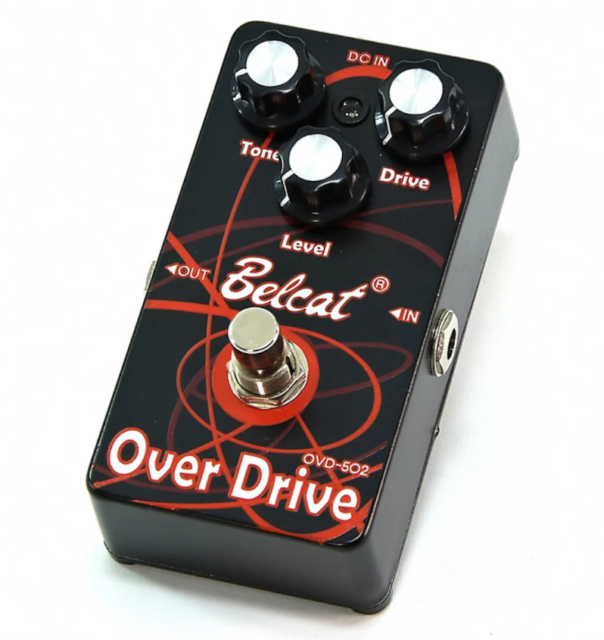 Brand New Belcat Over Drive Guitar Pedal OVD-502