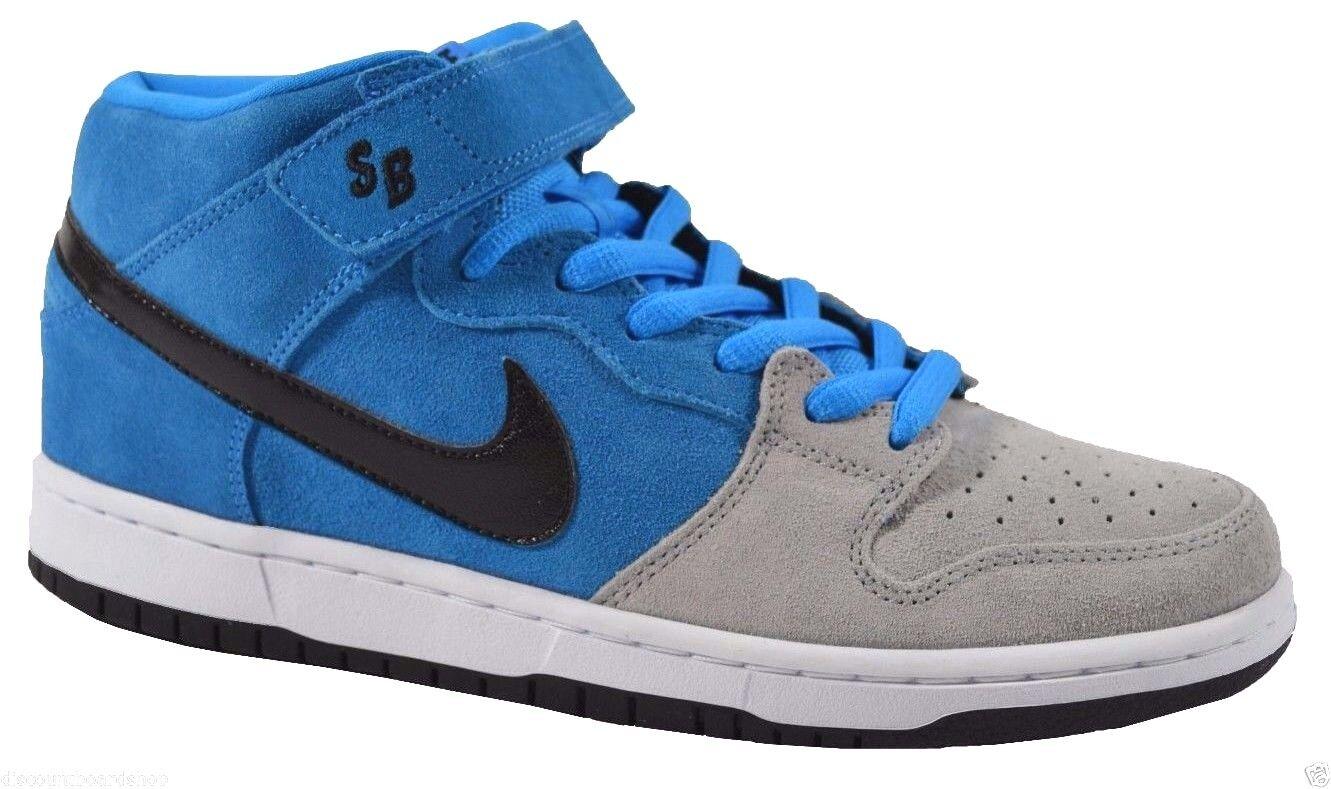 Nike DUNK PRO SB Hero Blue Black Wolf Grey (286) 314383-400 Men's Shoes