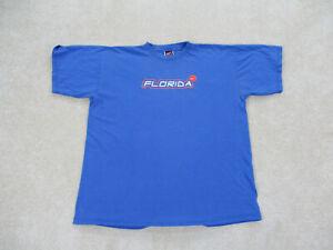 VINTAGE-Nike-Florida-Gators-Shirt-Adult-Extra-Large-Blue-Football-Mens-90s-B44
