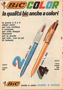 Pubblicita-Advertising-Werbung-1972-BIC-COLOR