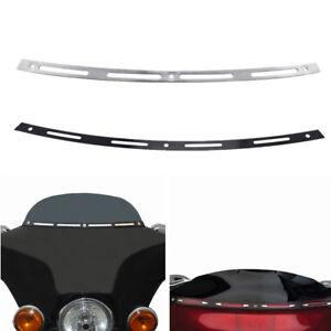 Fairing Windshield Windscreen Trim For Harley Street Tri Glide Touring Bike