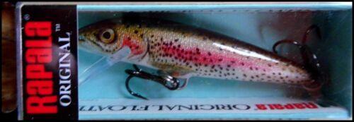 color Live Rainbow Trout RAPALA ORIGINAL FLOATER 7 cm RTL