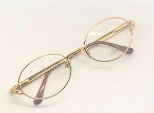 Vintage-Hilton-Montecarlo-351-1-Oval-Eyeglasses-Optical-Frame-Lunettes-Brille-RX