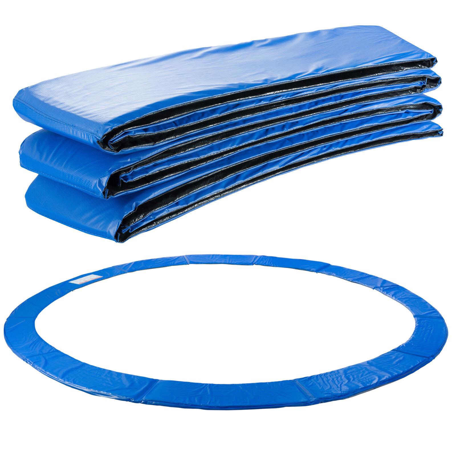 Arebos Almohadillas de seguridad Cojín Trampolín 487cm azul