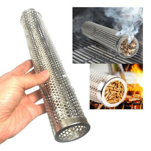 Mesh-Stainless-Steel-BBQ-Smoker-Tube-Generator-Pellet-Grill-Cold-Smoke-6-12