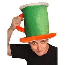 St Patrick's Day Novelty Beer Pint Tankard Fancy Dress Hat
