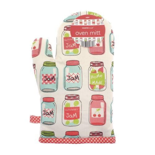 Country Club Oven Glove Mitt Kitchen Cooking Baking Insulated Accessory