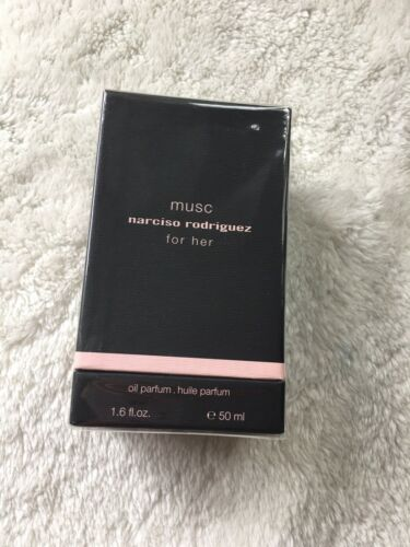 Narciso Rodriguez musc for her oil parfum 50ml NEU Rarität  p4WIF 1M1R2