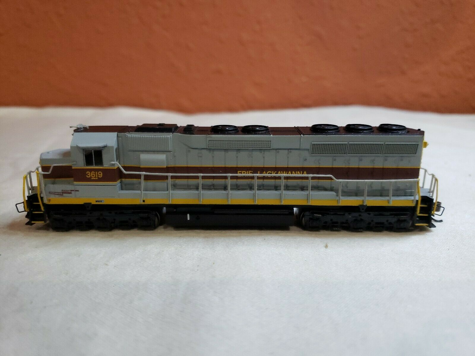 N SCALE BACHMANN LOCO  66451 EMD SD45 DIESEL DCC SOUND EQUIPPED  RD  3619 NEW