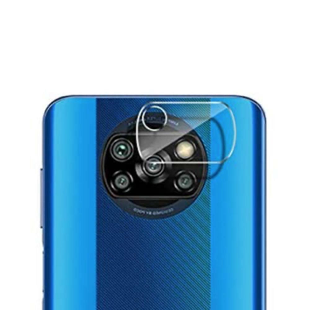 Protector para Xiaomi Pocophone X3 lente de camara Cristal Templado Vidrio