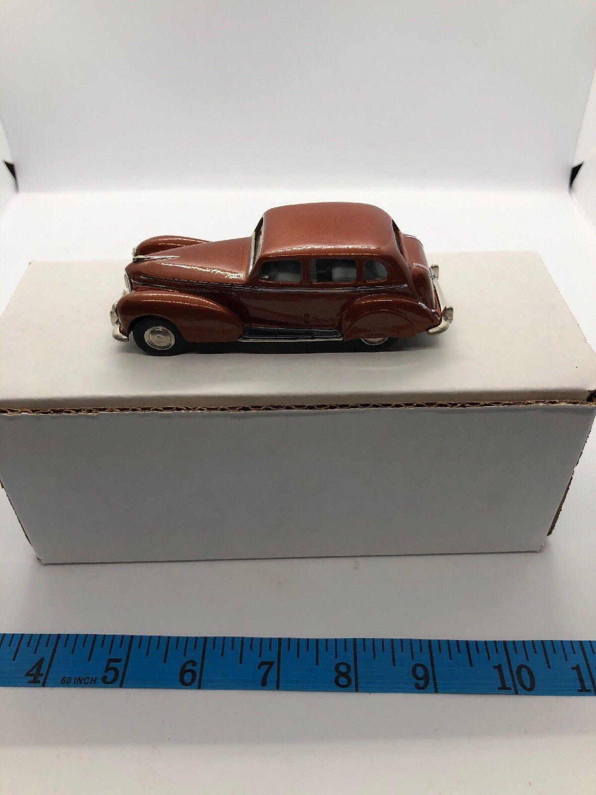 1 43 Sun Motor Company 1950 Humber Super Snipe Burnt Orange Rouille bronze Modèle