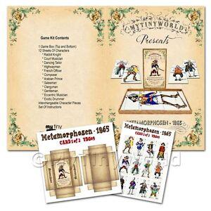 Miniatura Para Casa De Munecas Juego De Mesa Kit Metamorphosen Ebay