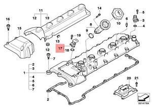 Camshaft Position Sensor V10 Motor S85 Engine OEM BMW E60 E63 E64