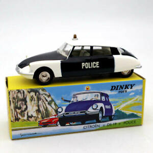1:43 Atlas Dinky Toys 501 Citroen DS 19 Police Car Models Diecast Collection