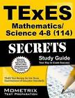 Texes Mathematics/Science 4-8 (114) Secrets Study Guide: Texes Test Review for the Texas Examinations of Educator Standards by Mometrix Media LLC (Paperback / softback, 2016)
