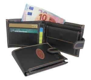 Portefeuille-HOMME-Porte-monnaie-Porte-cartes-Couleurs-au-choix-LM
