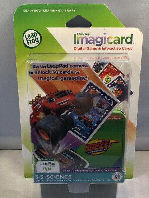 LeapFrog BLAZE Monster Truck Learning Interactive Game - Cars Game Leapad