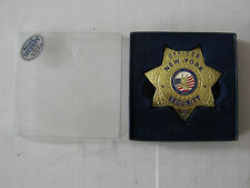 OFFICER NEW YORK SECURITY 8 (BADGE COLLECTION - POLICE SECURITY - LEGGI