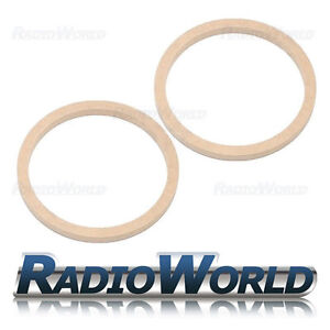 6-5-034-165mm-MDF-Speaker-Spacer-Mounting-Rings-12mm-Thick-ID-144mm-ED-166mm-Pair