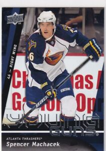 09-10-UD-SERIES-1-SPENCER-MACHACEK-YOUNG-GUNS-RC-SP-ROOKIE-219