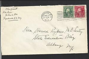 LYNBROOK-NEW-YORK-1933-NASSAU-CO-1894-OP-COVER-TO-ALBANY-N-Y