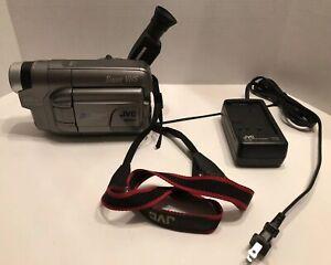 JVC-Super-VHS-CAMCORDER-400x-Digital-Zoom-Video-Camera-GR-SXM321-Tested