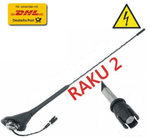 Antenna TETTO ANTENNA SHARK con Raku 2 con amplificatore per AUDI VW SEAT SKODA Top