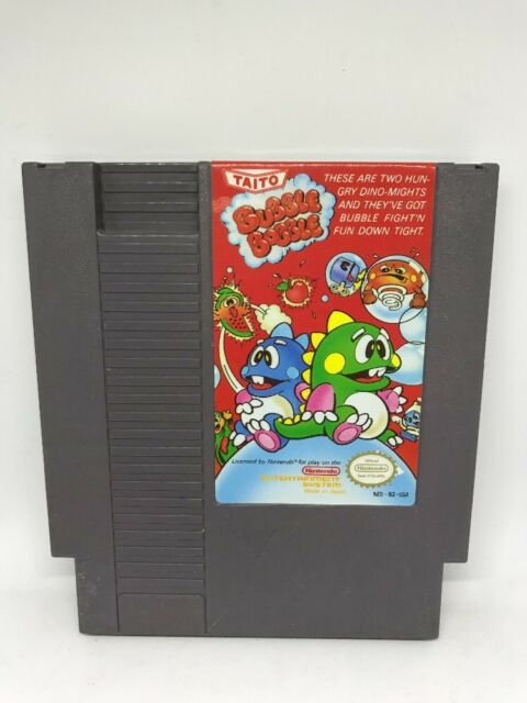 Bubble Bobble (NES) - Tested and Working - FAST FREE SHIPPING DAY OF PURCH!!