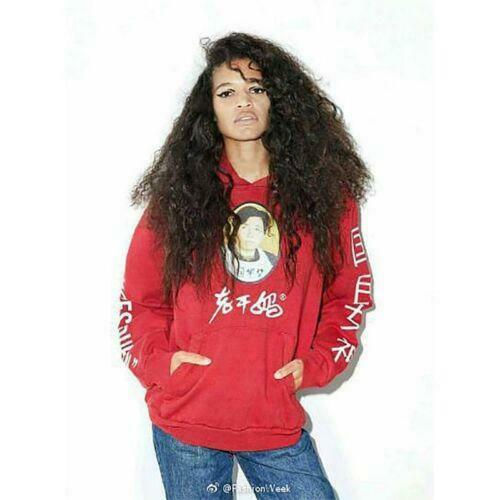 Fashion Laoganma Logo Womens//Mens Oversize Hoodie Tops Hooded Sweat Shirt Size L