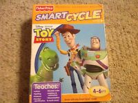 Fisher Price Smart Cycle Software-disney Pixar-toy Story-brand