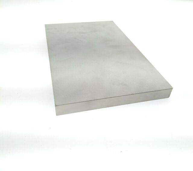 "20 Gauge Stainless Steel #8 Mirror Finish 304 Sheet Plate 4/"" x 4/"""