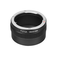 Fotga Olympus OM Mount Lens To Canon EOS M M2 M3 EF-M Mirrorless Camera Adapter