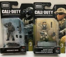 Mega Construx Call Of Duty Keegan P Russ Fvf93 And Desert Sniper Fvf96