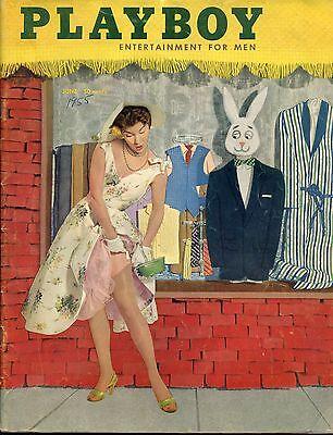 PLAYBOY MAGAZINE - JUNE 1955 - EXCELLENT- CONDITION - TAKE A LQQQK