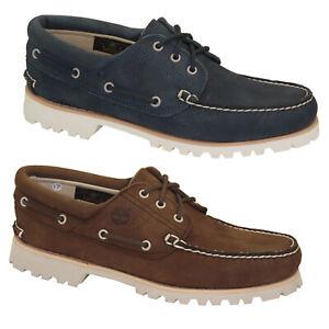 Timberland-Chilmark-3-Eye-Boat-Shoes-Ultra-Leicht-Herren-Schnuerschuhe-Deckschuhe