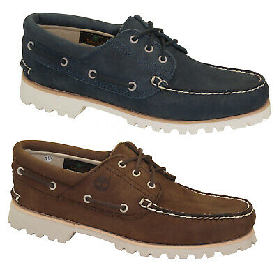 3dc279d7 Details about Timberland Chilmark 3-Eye Boat Shoes Ultra Lightweight Men's  Lace-Up Deck