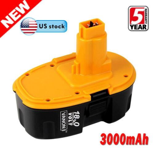 4 Pack 18V 4000mAh 18 Volt for Dewalt XRP Battery DC9096-2 DC9098 DC9099 DW9096