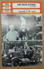 US Comedy Film It's A Gift W.C. Fields French Movie Film Trade Card
