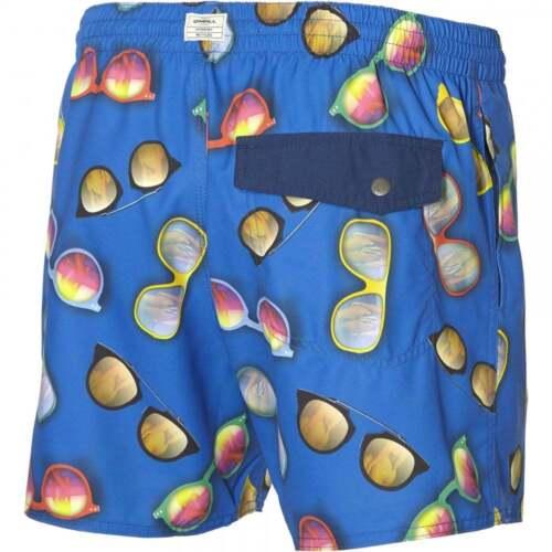 Blue O/'Neill Shades Print Men/'s Swim Shorts