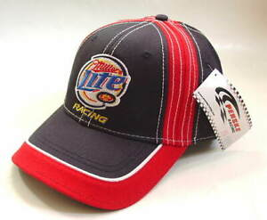 KURT-BUSCH-2-PENSKE-NASCAR-MILLER-LITE-Cotton-Hat-Cap-Mens-Size-OSFA-NEW-NWT