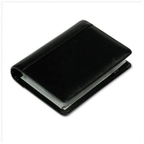 Samsill Regal Leather Business Card Binder 120 Capacity6-ring Binding