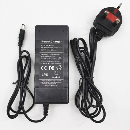 Neu Elektroroller-Ladegerät 36V DC Für KUGOO S-Serie ETWOW 8 Zoll Roller