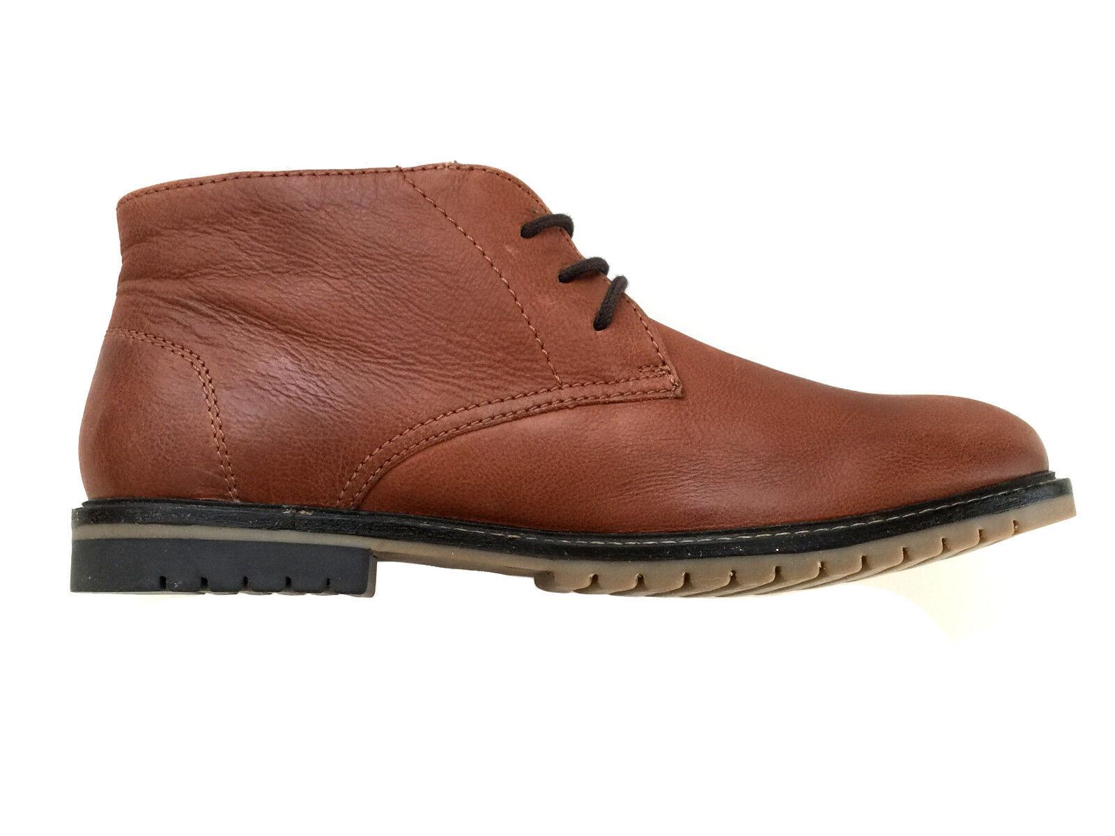 NEU Herren Schuhe von John Devine Gr.45 braun echtes Leder