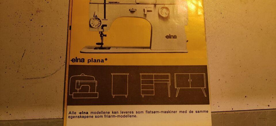 Symaskine, Elna